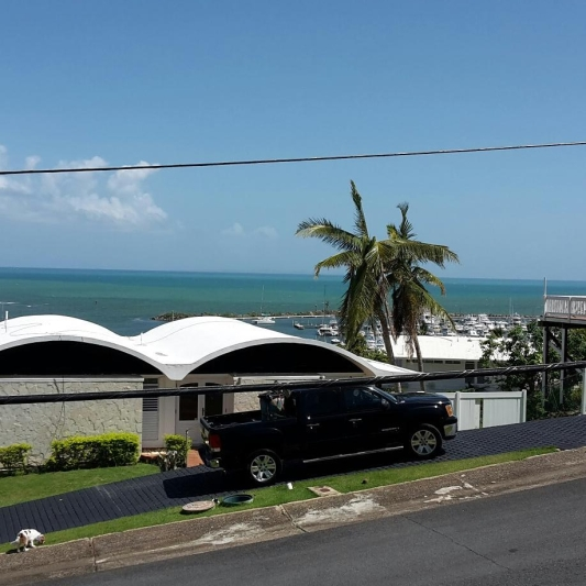 Las Gaviotas - right across from Marina Puerto del Rey.