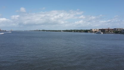 A peaceful day on Lake Worth