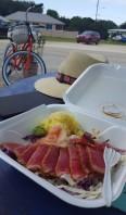 Beach truck sashimi