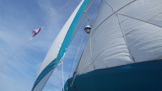 EIYC Burgee flying