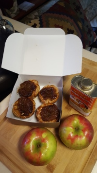 Butter tarts, maple syrup and Honeycrisp apples