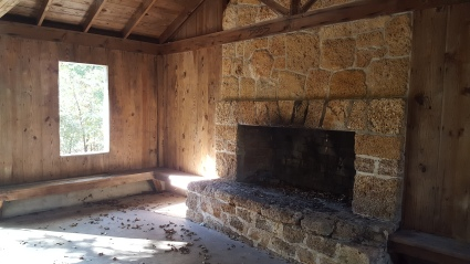 Imagine the gatherings round this hearth since the 1930's